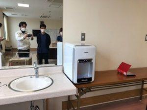 福岡県糸島市 病院 設置事例②