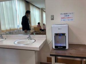 福岡県糸島市 病院 設置事例④